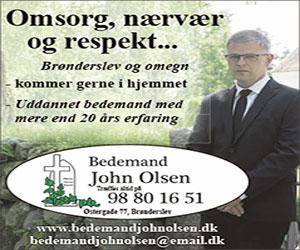 Bedemand John Olsen